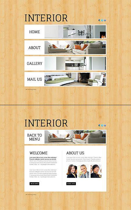 interior design flash template pinterest flash templates