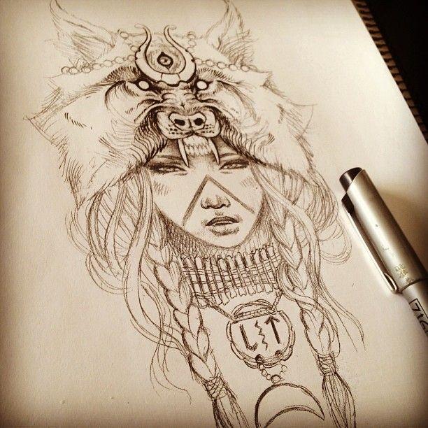 Wolf Headdress                                                       …