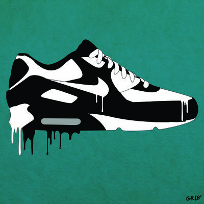 Nike Air Max 90' _ Illustrator