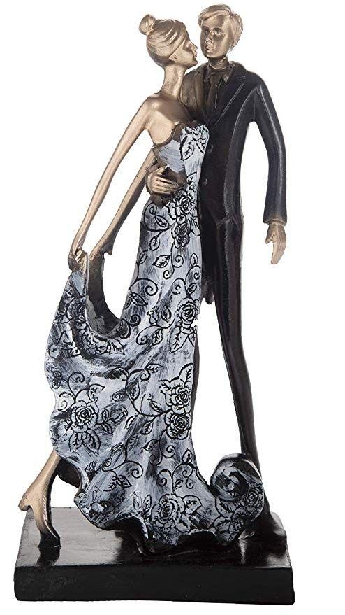 Designer Romantic Love Couple Showpiece Statueft For Girlfriend