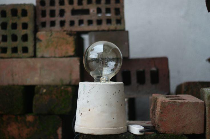 DIY Cement Lamp