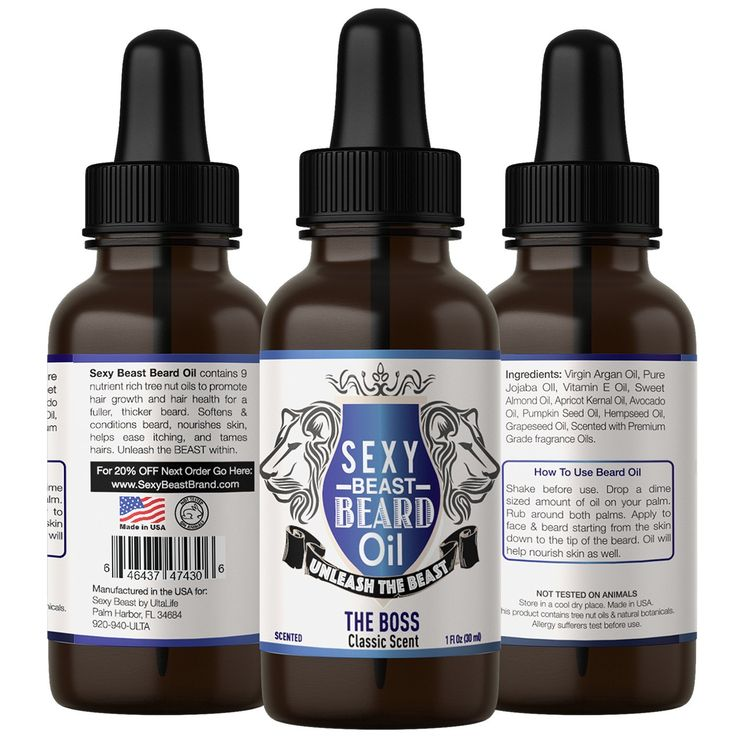 no.1 BEST Beard Oil For Men - THE BOSS SCENT - Proprietary 9 Oil Blend Stimulates Facial Hair   Beard and Mustache Growth   Repairs Frizzy Hair   Eliminates Dry Itchy Skin For A Thicker Fuller Sexy Beard ** Click on the image for additional details.