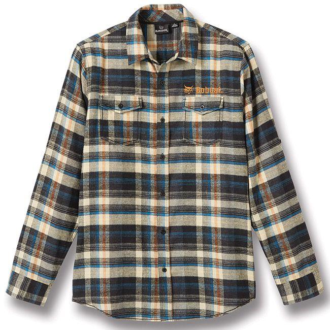 1000 images about apparel bobcat merchandise on pinterest for 9 oz flannel shirt