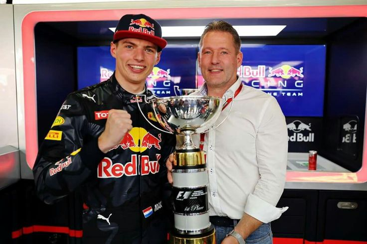 Max and his dad  Jos Verstappen