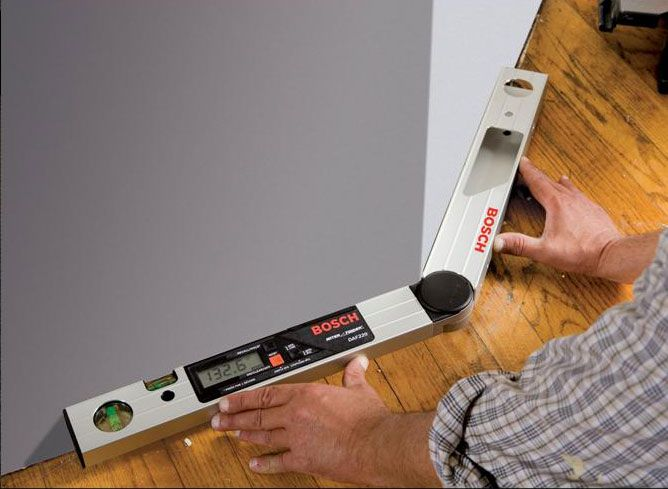 Amazon.com: Bosch DAF220K Miter Finder Digital Angle Finder With Leg  Extension And Case · Woodworking Power ToolsCarpentry ...