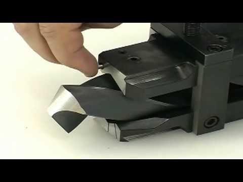 Como reparar y afilar brocas para metal en una piedra de esmeril - YouTube
