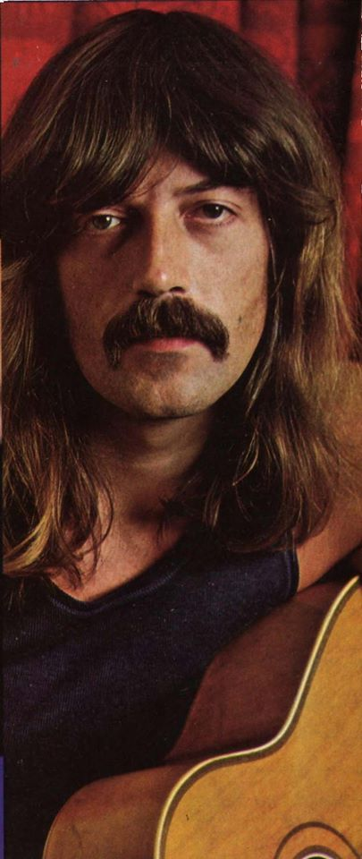 The image may well be inverted? Jon Lord, the Hammond genius, playing 'southpaw' Acoustic.