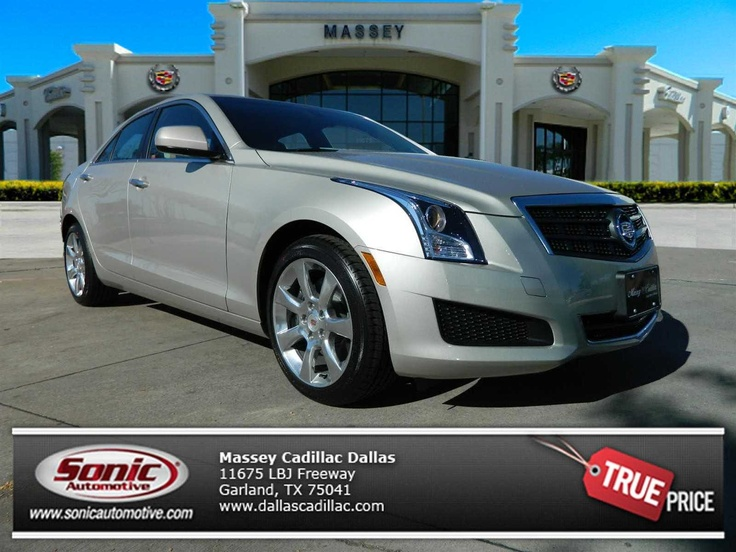 Luxury Vehicle: $39,445 Rare Color! #New #2013 #CADILLAC #ATS #2.0L #Turbo