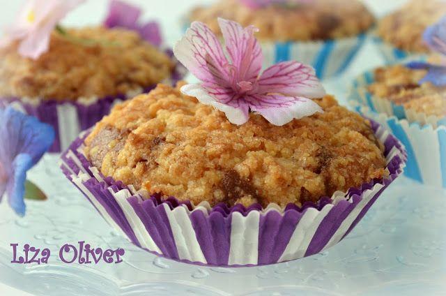 MY FOOD или проверено Лизой: Карамельные кексы со штрейзелем