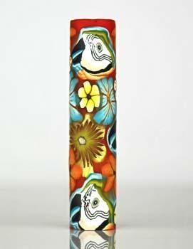 Sierra Flowers 217 Polymer Clay Pen Blank