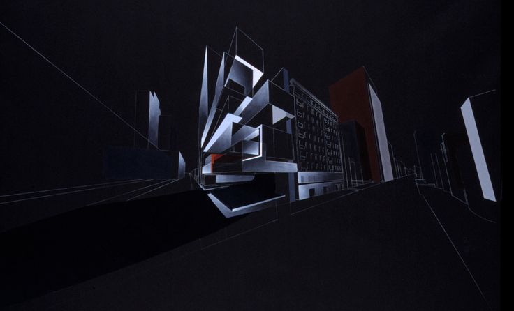 Gallery of The Creative Process of Zaha Hadid, As Revealed Through Her Paintings - 29