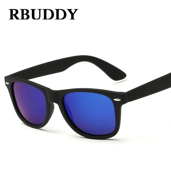 824a51de920 FuzWeb RBUDDY Polarized Sunglasses Men Classic Square Shades Driver glasses  Sun glasses gafas de sol
