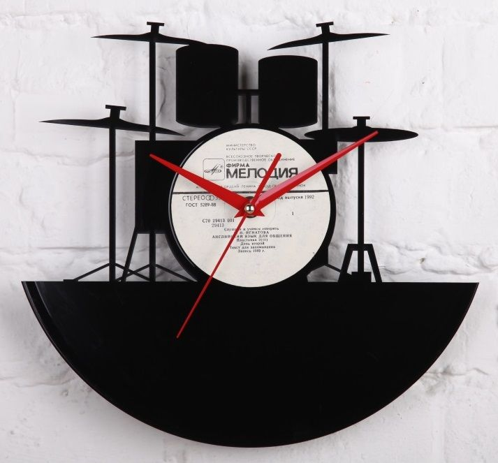 16 best Vinyl Wall Clocks images on Pinterest Vinyl records