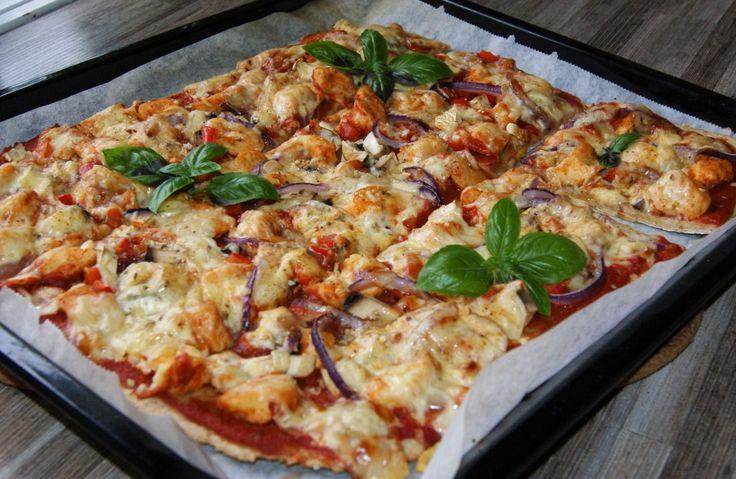 Næringsrik pizza med kylling – Sunn matlyst