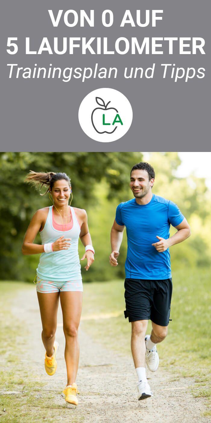 Laufen anfangen: Von 0 auf 5 Kilometer in 6 Wochen [mit Trainingsplan]