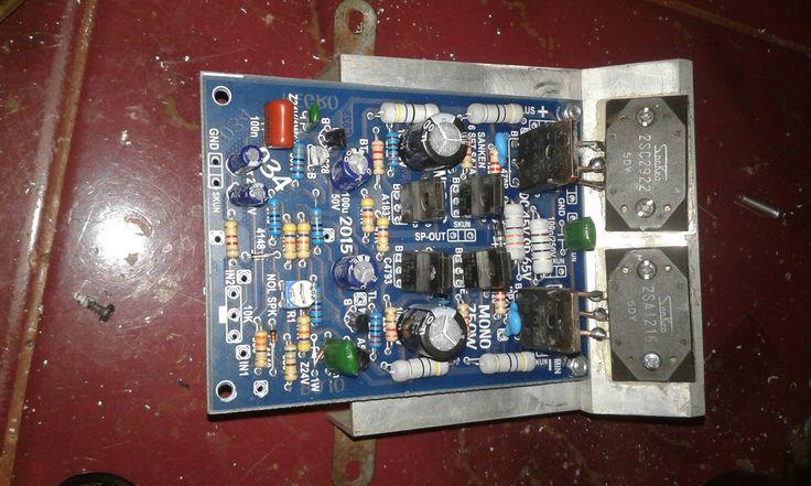 DIY 750W power amplifier kit