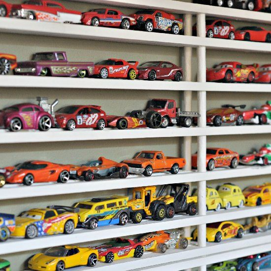 Hot Wheels Toy Car Holder Truck : Best ideas about matchbox car storage on pinterest
