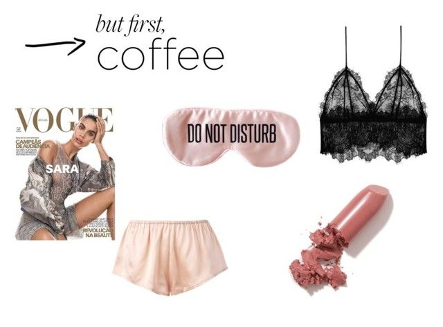 """""""but first, coffee"""" by paula-wallin on Polyvore featuring LAQA & Co., BaubleBar, Asceno, Anine Bing and coffee"""