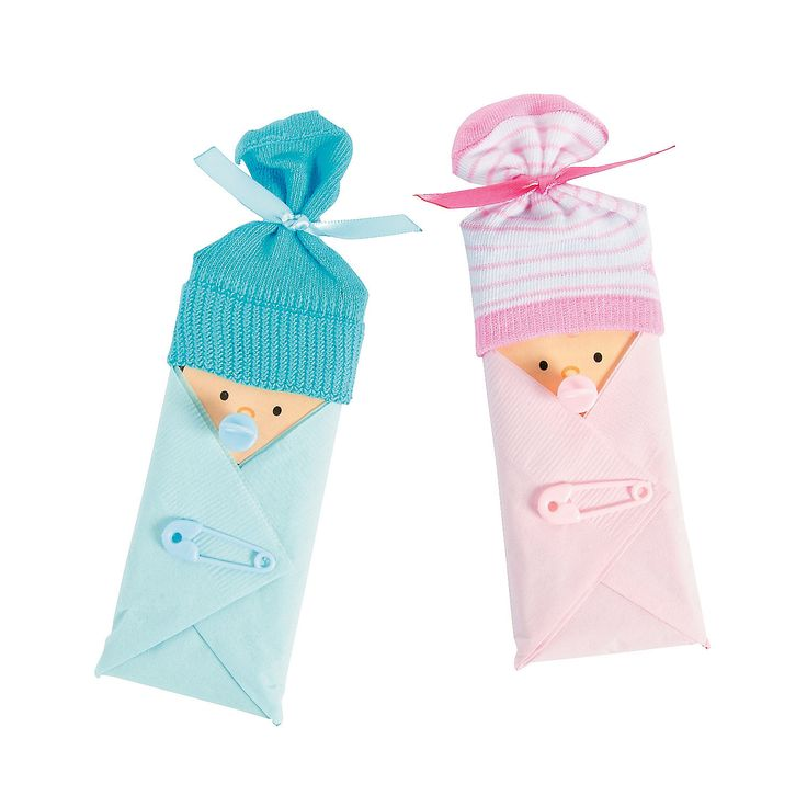 Baby Shower Candy Bar Favor Idea - OrientalTrading.com