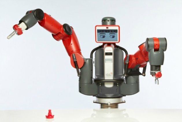 Rethink Robotics' Baxter robot - Rethink Robotics