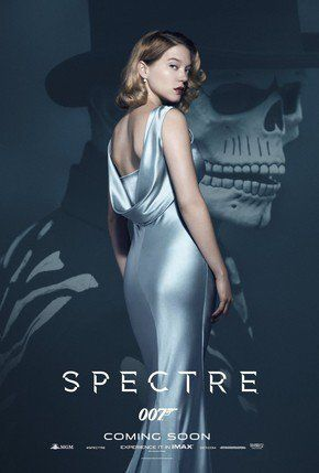 007 -  Contra SPECTRE Lea Seydoux Cartaz Poster