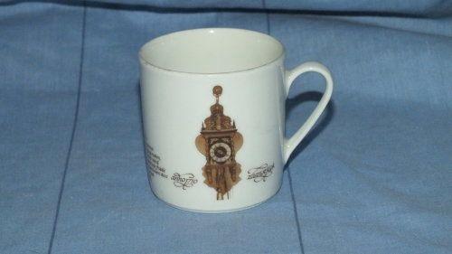 Buy Cup - Coffee Cup Demitasse - Wall Clock Design - Zaanseklok Anno 1710 - Mitterteich Porzellan 3for R80.00