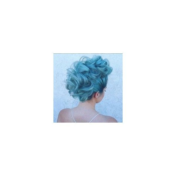 Permanent blue hair dye ❤ liked on Polyvore featuring beauty products, haircare and hair color