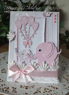 Baby Cards with Tonic-Gold