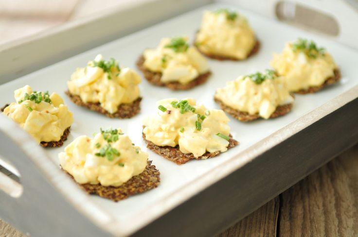 Toastjes van lijnzaad - gezonde snack - Voedzaam en Snel