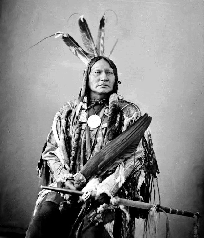 Running Antelope, 1872. Hunkpapa Sioux.