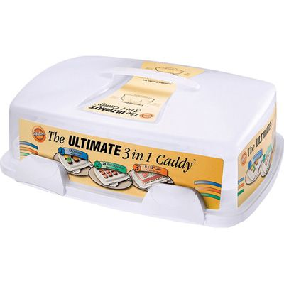 Wilton Ultimate 3 In 1 Cupcake And Cake Caddy cakepins.com