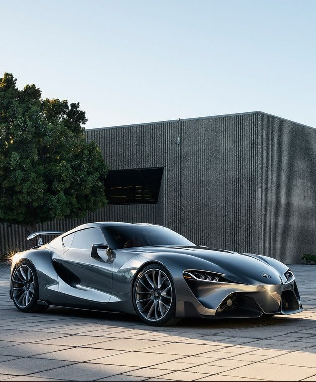 Possibly the new 'Toyota Supra' the Toyota FT-1 Concept