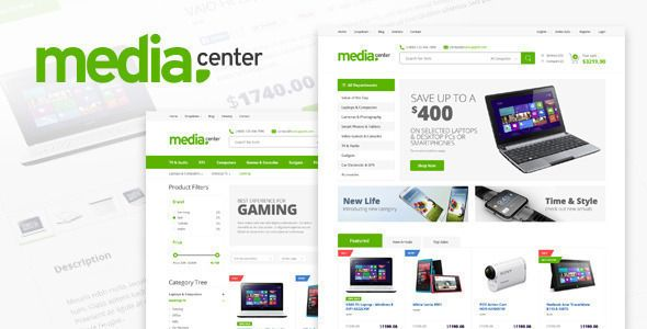 #E_commerce_Templates #amazon_like #clean MediaCenter – Electronics Store Prestashop Theme: Get MediaCenter – Electronics Store Prestashop…