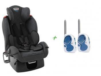 Cadeira para Auto Reclinável Burigotto - Matrix Evolution K Dallas + Babá Eletrônica
