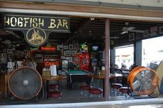 Hogfish Bar & Grill - Stock Island, Florida near Key West
