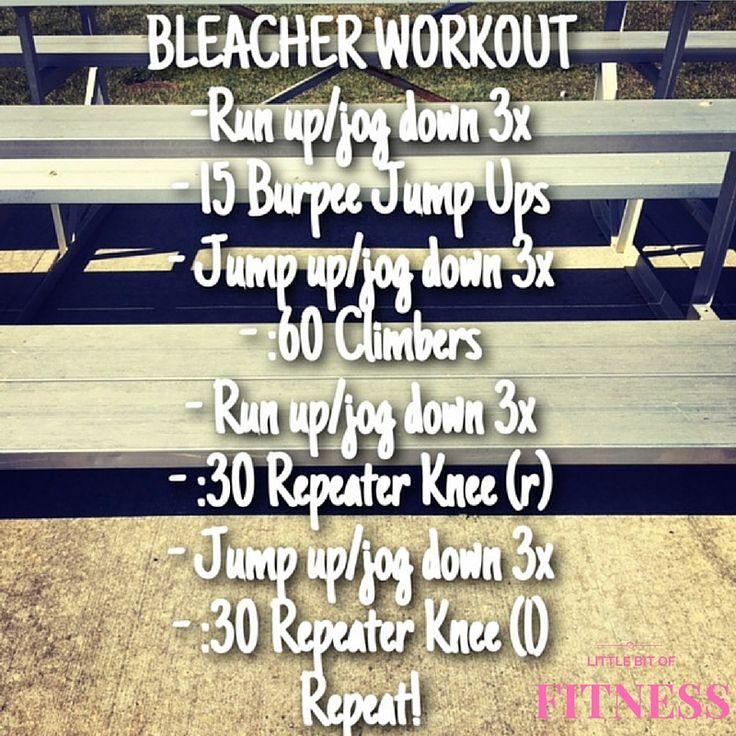 Bleacher Workout                                                                                                                                                                                 More