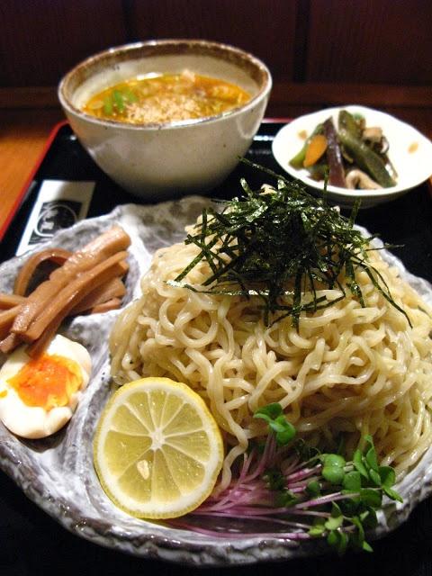 Dream Tsukemen, Japanese Dipping Ramen Noodles (Kameya, Nagano) 夢つけ麺