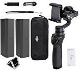 #7: DJI Phone Camera Gimbal OSMO MOBILE Spare DJI Osmo Intelligent Battery Polaroid Memory Card Wallet and Accessory Bundle