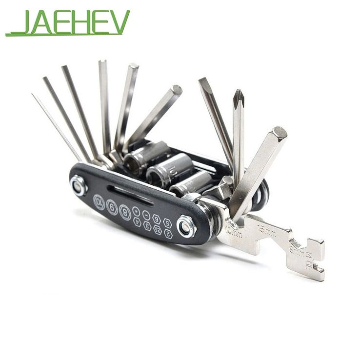 4.2$  Know more - 15 in 1 Bike Repair Tools Kits Multifunction MTB Bike Bicycle Hexagon Screwdriver Wrench Repair Tool Cycling Accessories   #magazine