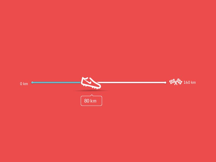 Progress Bar Runners Flat Icon by Jonathan Castaño