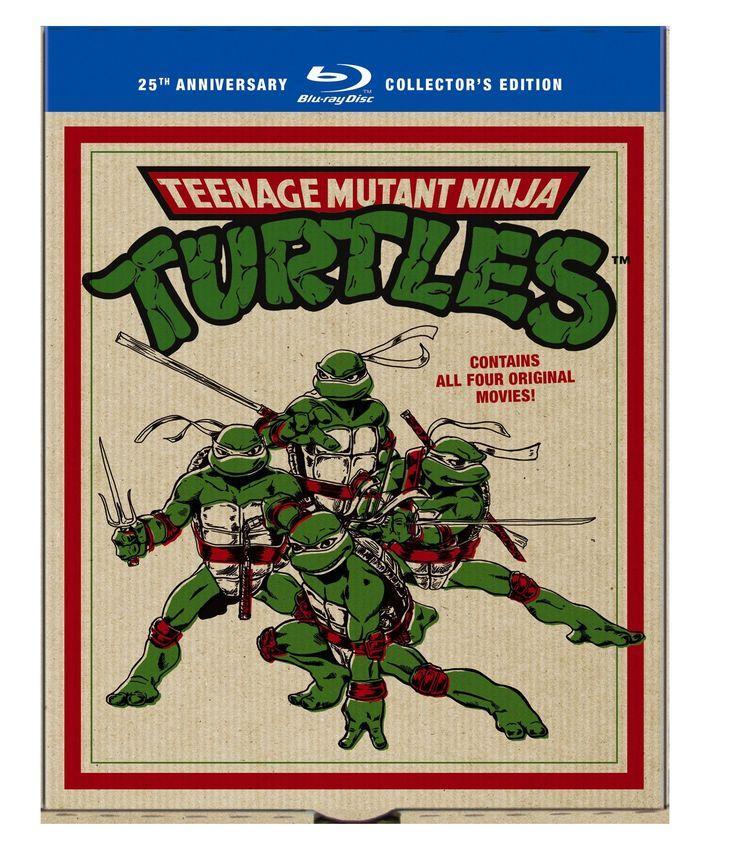 Amazon.com: Teenage Mutant Ninja Turtles: 25th Anniversary Collector's Edition (Teenage Mutant Ninja Turtles / Secret of the Ooze / Turtles in Time / TMNT) [Blu-ray]: Judith Hoag, Elias Koteas: Movies & TV | @giftryapp