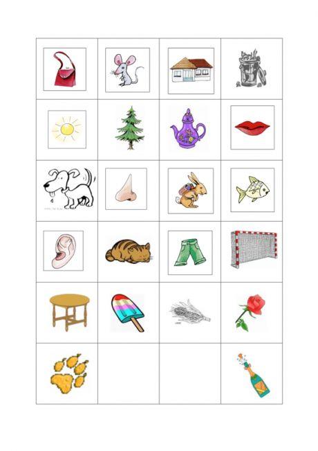 bilder memory reimw rter artikulation sprache vorschule pre school preschool activities. Black Bedroom Furniture Sets. Home Design Ideas