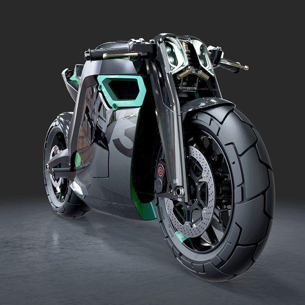 STR CAF 13 Concept Motorcycle by Péter Iglói-Nagy