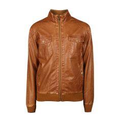 REVIEW Jacke in Leder-Optik in Cognac  | FASHION ID Online Shop
