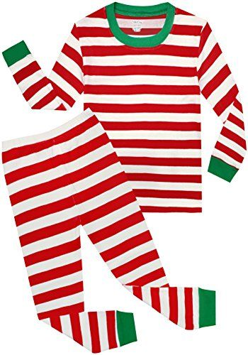 shelry Boys Christmas Pajamas Children Cotton Clothes Kids PJS Pants Set --  For more information 006183759