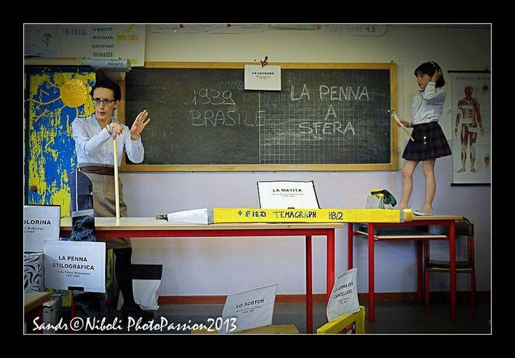 Io e Viola in classe per Eureka!