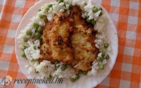 Tejfölben pácolt csirkemell recept fotóval