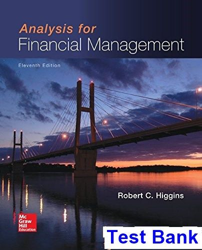 The 25 best financial management pdf ideas on pinterest analysis for financial management 11th edition higgins test bank test bank solutions manual fandeluxe Gallery