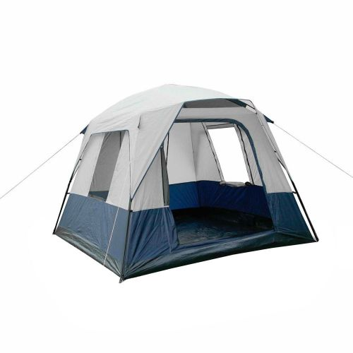 DetailsWeisshorn Camping TentFeaturing a 4 person camping tent that is perfect for weekend getaways and holidays. Using waterproof and UV resistant 190T polyester rainfly with double layered fabric construction...