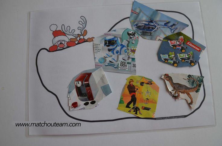 La hotte du Père Noël |  Les catalogues de jouets sont bien arrivés, les premiers découpages  peuvent commencer :-)
